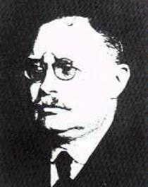 "Christfried Jakob (1866-1956) was a pivotal figure of the Argentine-German tradition in neurobiology and consciousness studies, started around 1760 and which counted a number of ""firsts"" (among them, the worldwide-first prolonged electrostimulation of a conscious human brain, Sept. 1883 to May 1884 in San Nicol�s de los Arroyos). Christofredo Jakob, here at the time of founding the Folia Neurobiologica Argentina in 1939, made today-relevant contributions to brain biophysics, psychophysiology, psychology, consciousness, brain phylogeny (evolution) and ontogeny (development), neuropathology, histology, and comparative psychology.He never accepted ""engrams"", though a thorough neurobiophysical understanding of memory was attained by his continuators soon after his demise. Jakob taught to around five thousand researchers in the medical, philosophy, psychology, and normalist (teachers' formation: escuela normal) Argentine traditions. Figure from http://electroneubio.secyt.gov.ar"